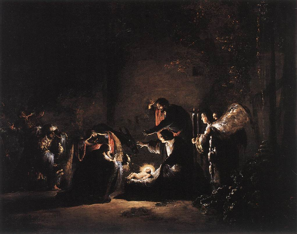 Adoration of the Magi, Leonaert Bramer 1620