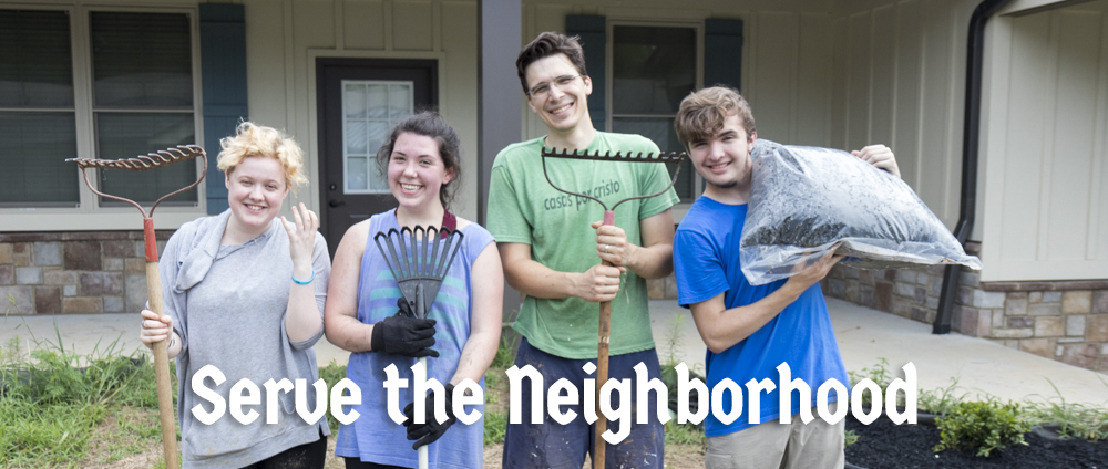 Serve the Neighborhood